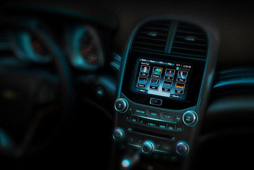 Chevrolet Malibu 2013 : Teaser de son intérieur!