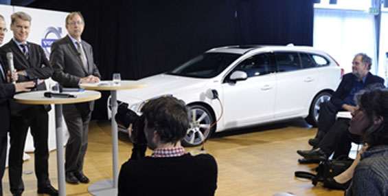 Volvo nous proposera une V60 hybride enfichable en 2012 !