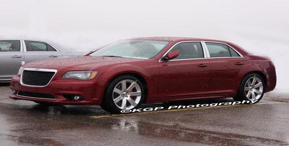 Chrysler 300 2012, quelques petits changements