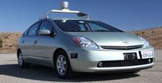 Les véhicules sans conducteur acceptés au Nevada