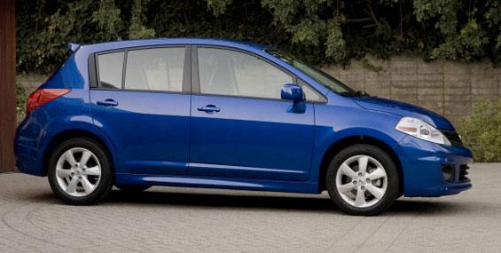 Une Nissan Versa à 5 portes reconduite sans changement en 2012 ?