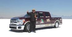 Ford F:250 :Nouveau record de vitesse pour une camionette à moteur Diesel.