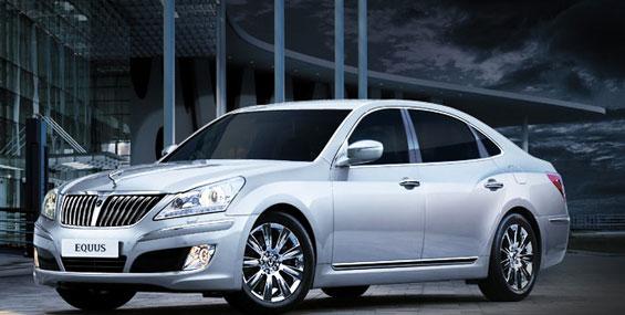 La Hyundai Azera 2012 fera son entrée au Salon de Los Angeles.