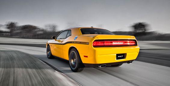 La nouvelle Dodge Challenger Yellow Jacket 2012