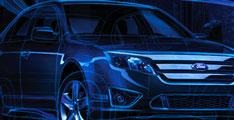 Ford Fusion 2013 : avec un Système de détection de changement de voie.