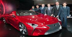Lexus concept LF:LC 2012 : ce magnifique concept coupé 2+2 hybride dévoilé à Detroit.