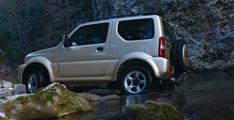 Suzuki concept du Jimny/Samurai:Au Salon de l'auto de New Delhi.
