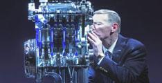 Une Ford Focus avec un moteur à 3 cylindres de 1 litre