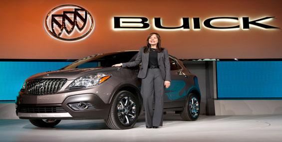 Le multisegment Buick Encore 2013
