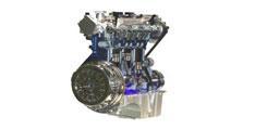 Ford EcoBoost :Le Moteur de 3:cylindres de 1 litre et 177 chevaux.