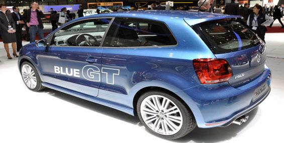 VW a dévoilé sa Polo Blue GT 2013