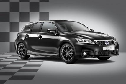 La Lexus CT 200H F-Sport : à la fois hybride et sportive