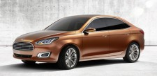 Ford Escort Concept : seulement pour la Chine?