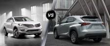 Match comparatif :  Lexus NX et Lincoln MKC