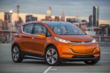 Chevrolet Bolt 2017 : une nouvelle voiture électrique