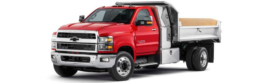 Chevrolet Silverado 4500HD, 5500HD et 6500HD 2019