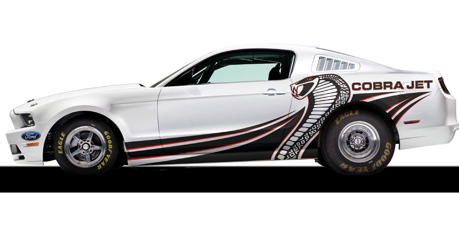 Ford Mustang Cobra Jet 2018 : 8 secondes sur le quart de mile