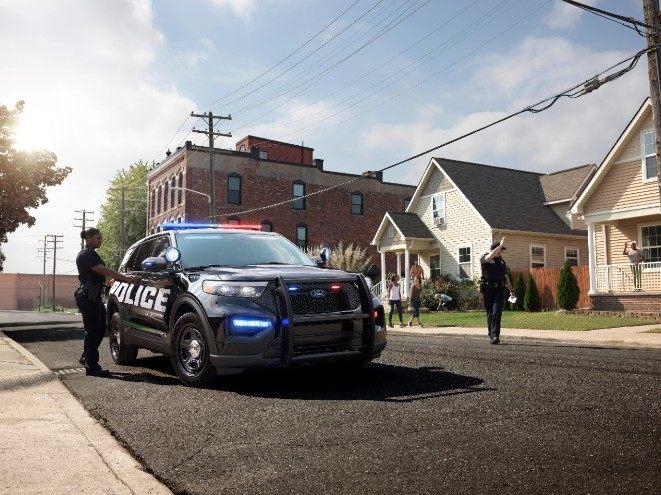 Ford Police Interceptor Utilitary 2020