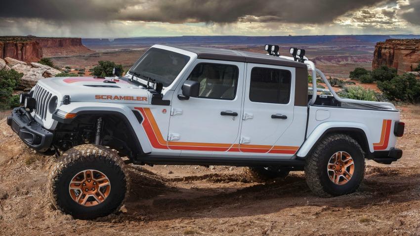 Jeep Gladiator 2020 : 6 nouveaux concepts