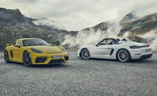 Porsche 718 Cayman GT4 et Boxster Spyder 2020