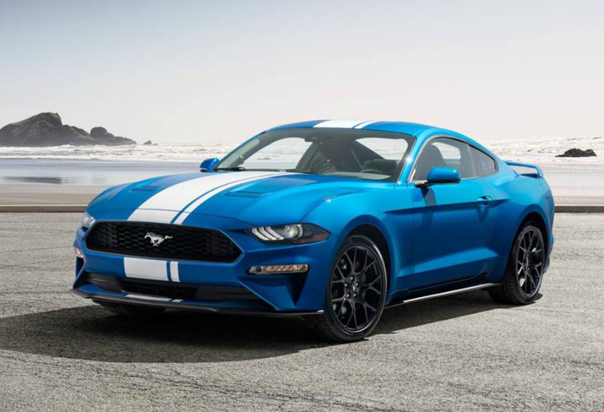 Ford Mustang, Chevrolet Camaro et Dodge Challenger 2019