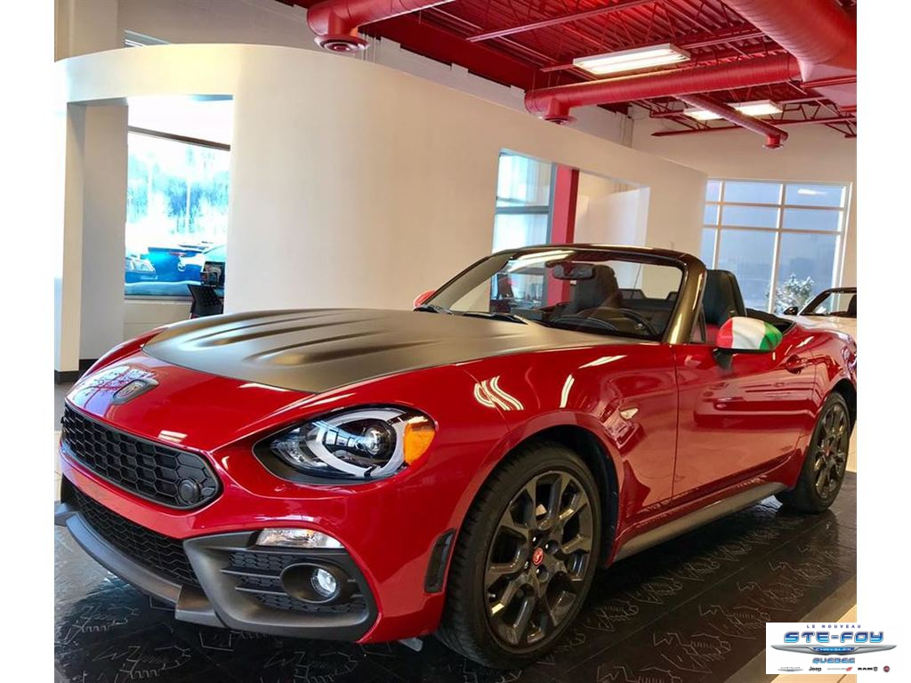 Used 2017 Fiat 124 Spider in Ste-Foy,QC