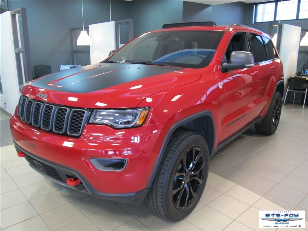 Used 2018 Jeep Grand Cherokee in Ste-Foy,QC