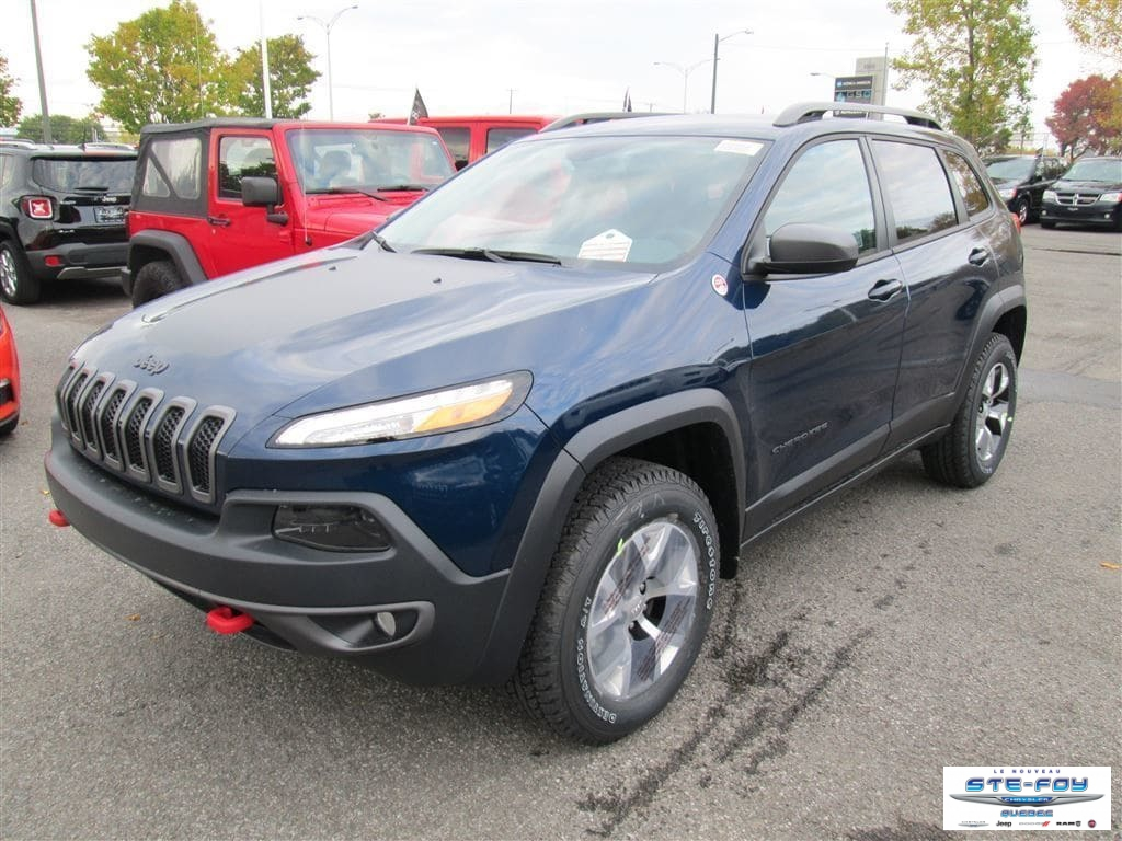 Used 2018 Jeep Cherokee in Ste-Foy,QC