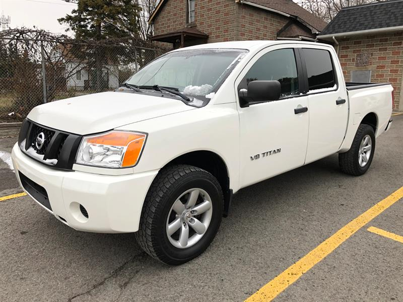 Nissan Titan 2012 - Photo de Nissan Titan 2012