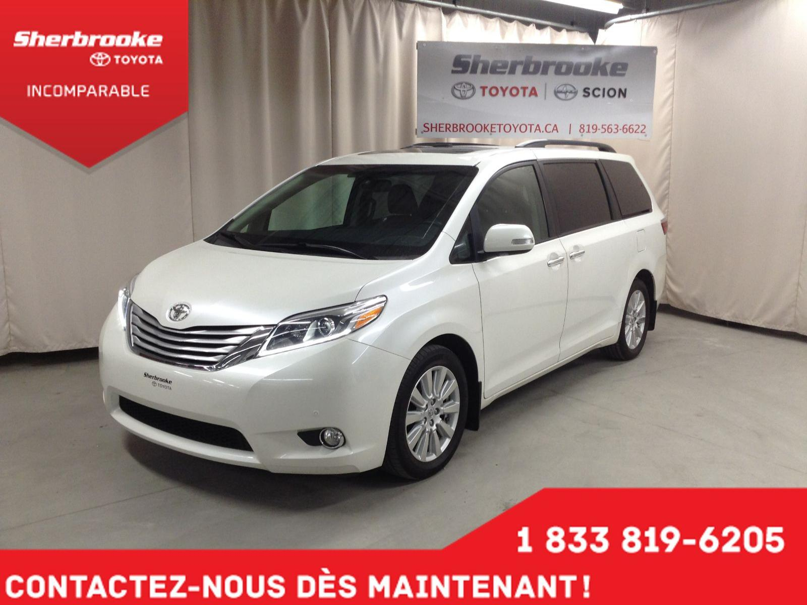 Used 2017 Toyota Sienna in Sherbrooke,QC