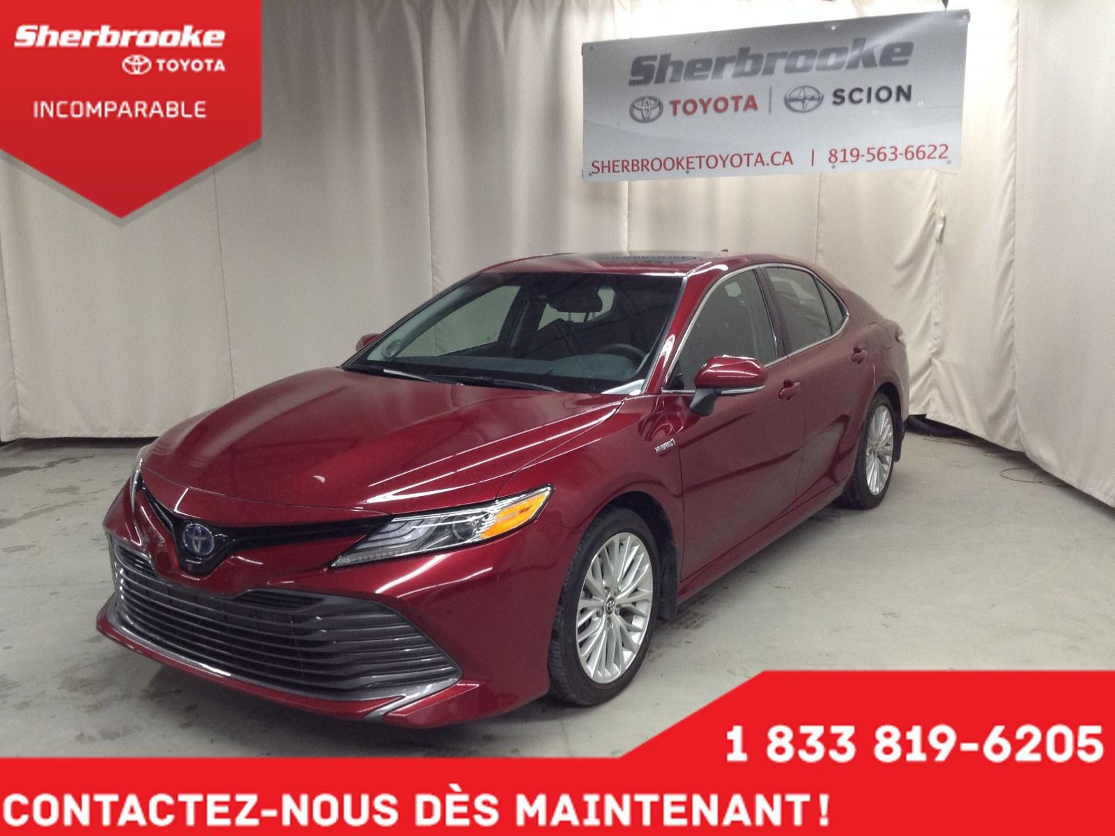 Used 2018 Toyota Camry in Sherbrooke,QC