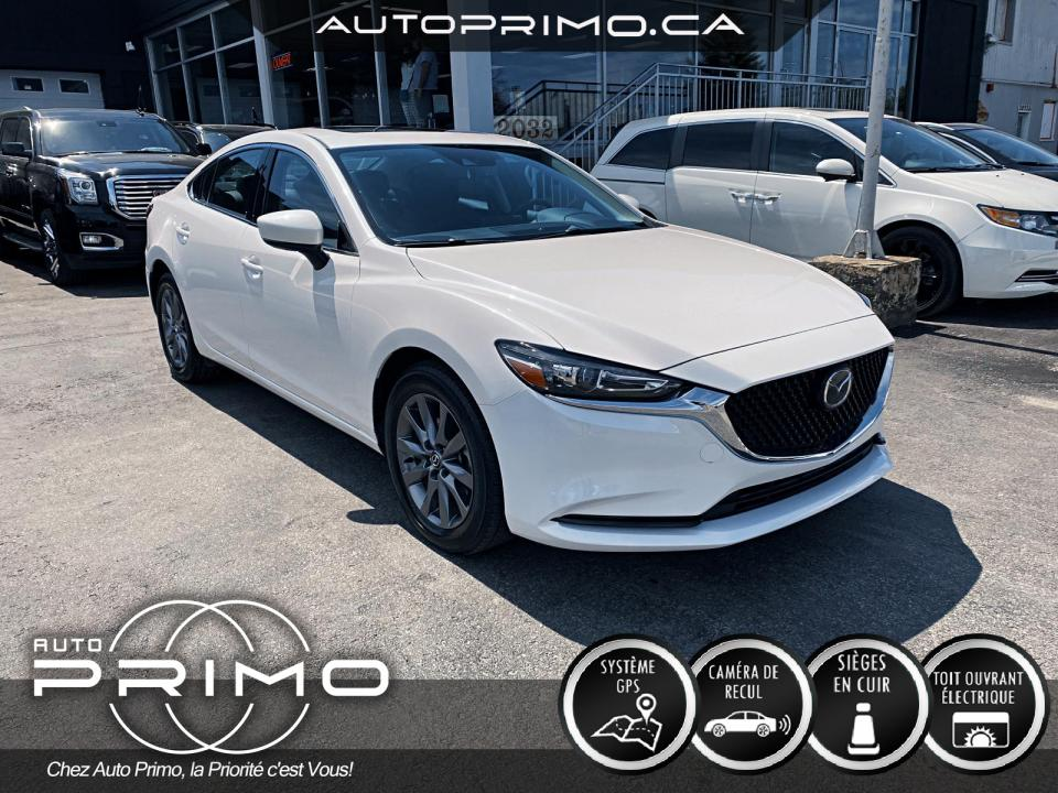 Mazda 6 GS-L Cuir Toit Ouvrant Nav Cam Mags 2021 complet