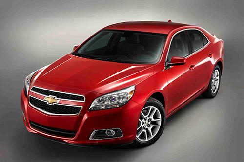 Chevrolet Malibu 2013 : la berline américaine sous un nouveau jour
