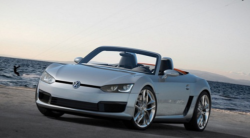 Le cabriolet VW BlueSport 2012