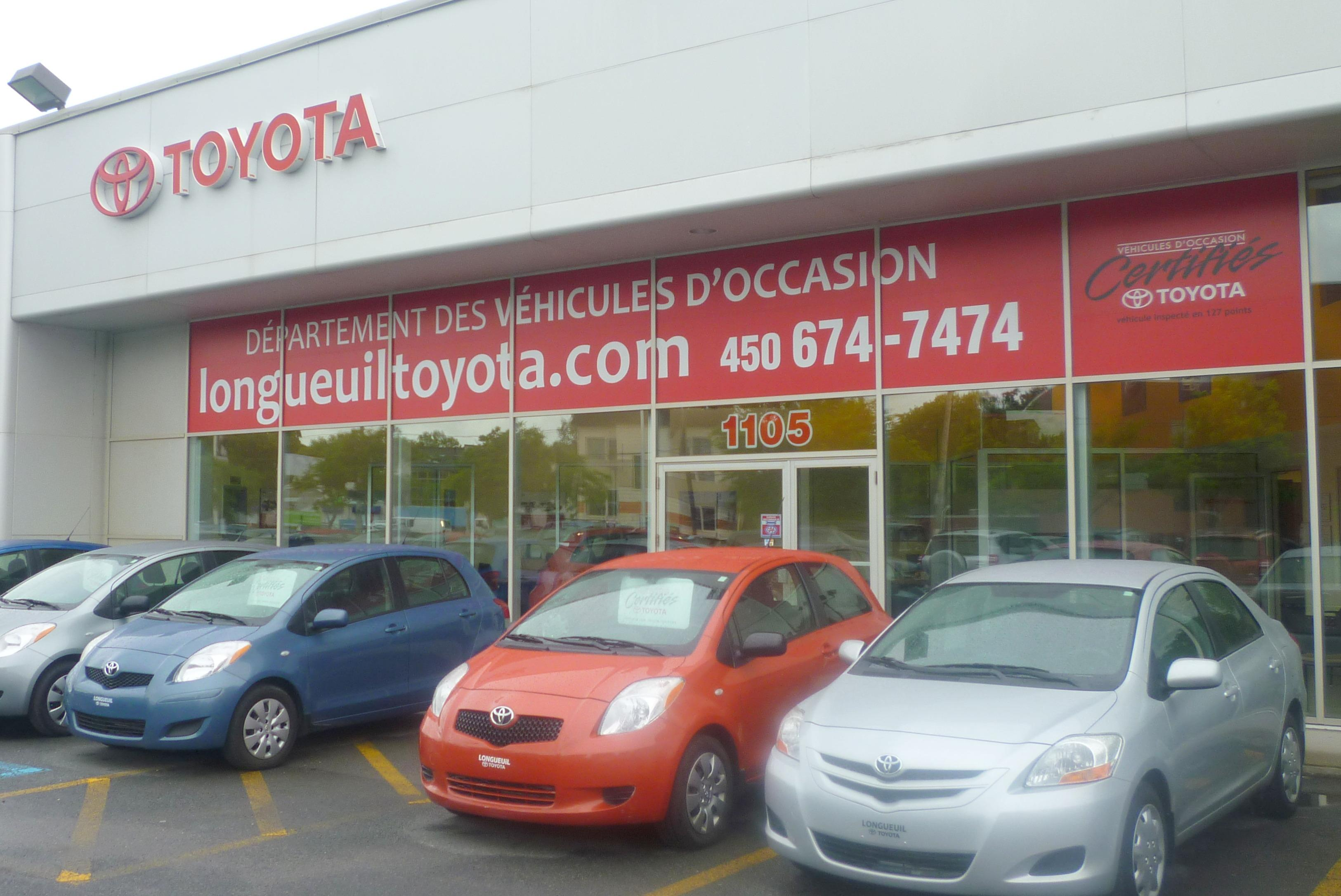 historique longueuil toyota longueuil. Black Bedroom Furniture Sets. Home Design Ideas
