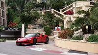 Ferrari et Charles Leclerc à Monaco