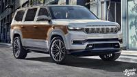 Jeep Grand Wagoneer 2022 : un peu de bois s'il vous plait