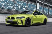 BMW M4 2021 : des pare-chocs après marché déjà…