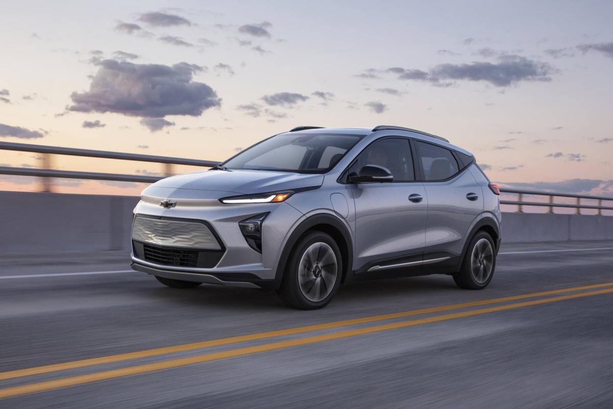 Chevrolet Bolt EUV 2022 : d'une pierre 2 coups