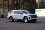 Chevrolet Suburban et Tahoe 2022
