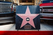 Le Chevrolet Suburban a son étoile à Hollywood