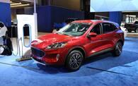 Ford Escape PHEV : la production débutera en 2021