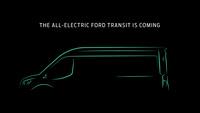 Ford Transit 100% électrique 2022