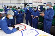 General Motors : une commande de 10 millions de masques complétés
