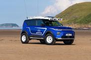 Kia transforme le Soul EV en Beach-Buggy