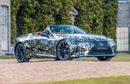 Lexus LC convertible : elle arrive!