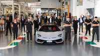Lamborghini Aventador : 10 000 voitures produites