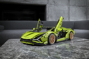 Lamborghini Sian 2020 : une version LEGO