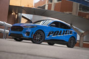 Ford Mustang Mach-E : pour la police de New York