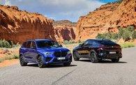 BMW X5M et X6M : 617 chevaux